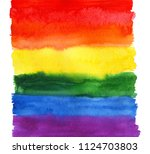 abstract background. watercolor ... | Shutterstock . vector #1124703803