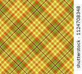 seamless tartan vector pattern | Shutterstock .eps vector #1124708348