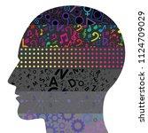 vector illustration of levels... | Shutterstock .eps vector #1124709029