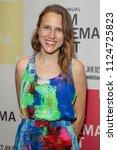 Small photo of New York, NY - June 30, 2018: Josephine Decker attends 10th annual BAMcinemaFest closing night screening of Madeline's Madeline at BAM Harvey Theater