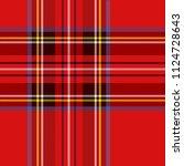 Tartan Pattern. Scottish Cage....