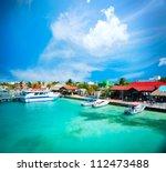 mexico.isla mujeres cancun | Shutterstock . vector #112473488