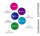 web modern creative element... | Shutterstock .eps vector #1124741363