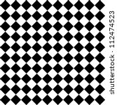 black and white hypnotic... | Shutterstock .eps vector #112474523