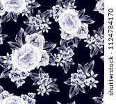 abstract elegance seamless... | Shutterstock . vector #1124784170