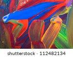 abstract art backgrounds. hand... | Shutterstock . vector #112482134