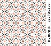 seamless pattern. modern... | Shutterstock .eps vector #1124852693