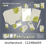 vector coporate design for... | Shutterstock .eps vector #112486604