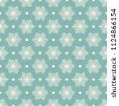 seamless vector decorative... | Shutterstock .eps vector #1124866154