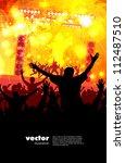 dancing people   Shutterstock .eps vector #112487510