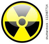 radiation symbol | Shutterstock . vector #112487714