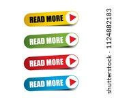 read more realistic sticker and ... | Shutterstock . vector #1124882183