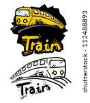 train draw | Shutterstock .eps vector #112488893
