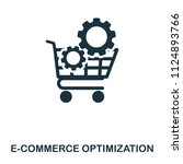 e commerce optimization icon....
