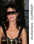 "Small photo of Katie Perry at Samsung and Sprint ""The Upstage"" Country Club. Private Location, Beverly Hills, CA. 04-15-07"
