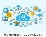 digital vector artificial...   Shutterstock .eps vector #1124931266