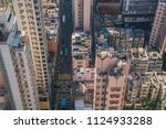 modern city skyline panorama in ... | Shutterstock . vector #1124933288