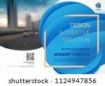 template vector design for... | Shutterstock .eps vector #1124947856
