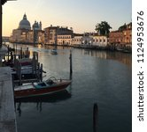 grand canal and santa maria... | Shutterstock . vector #1124953676