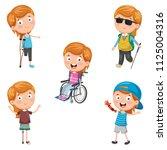 vector illustration of... | Shutterstock .eps vector #1125004316