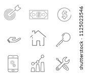 icon set web mobile. simple...