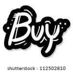 buy stick | Shutterstock .eps vector #112502810