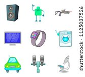 system framework icons set.... | Shutterstock . vector #1125037526