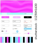 light pink  blue vector style...