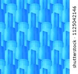 blue seamless pattern with cold ... | Shutterstock .eps vector #1125042146