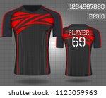 shirt sport  t shirt sport... | Shutterstock .eps vector #1125059963