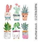 Cute Pots For Plants. Hand...