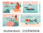 hand drawn vector abstract... | Shutterstock .eps vector #1125065636