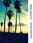 Venice Beach Sunset Vintage...
