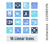 creative process icon set and...