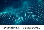 data technology illustration....   Shutterstock . vector #1125110969