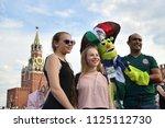 moscow  russia   june 29  2018  ... | Shutterstock . vector #1125112730