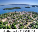 Bar Harbor Is A Tourist Town On ...