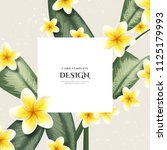greeting invitation card ... | Shutterstock .eps vector #1125179993
