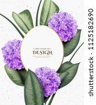 greeting invitation card ... | Shutterstock .eps vector #1125182690