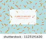 greeting invitation card ... | Shutterstock .eps vector #1125191630