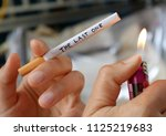 ignition of the last one... | Shutterstock . vector #1125219683