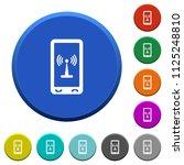 mobile hotspot round color... | Shutterstock .eps vector #1125248810