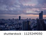 scenic of surreal skyline... | Shutterstock . vector #1125249050