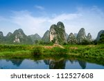 Karst Mountain Landscape And...