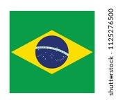 flag of brazil brazil  flag... | Shutterstock .eps vector #1125276500