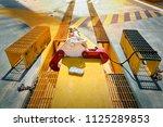 crane inspector  crane...   Shutterstock . vector #1125289853