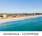 an aerial view of palm beach on ... | Shutterstock . vector #1125299360