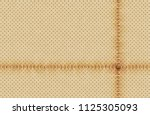 vector light perforated leather ... | Shutterstock .eps vector #1125305093