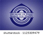 do more of what makes you happy ... | Shutterstock .eps vector #1125309479
