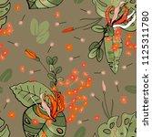 botanical motifs. isolated...   Shutterstock .eps vector #1125311780